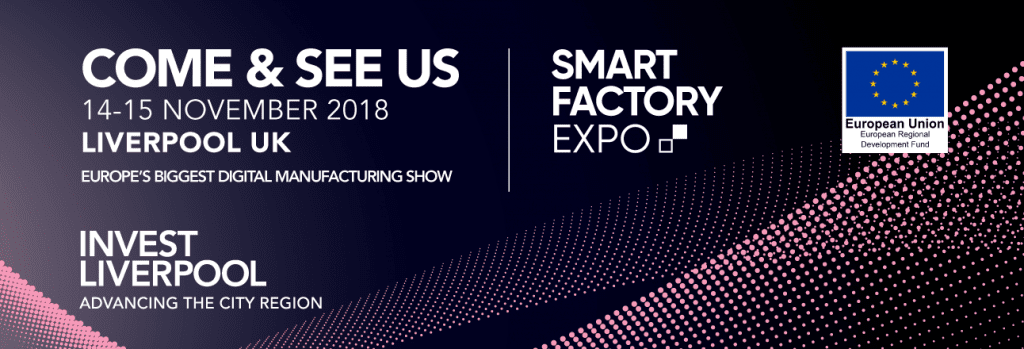 Come and see us at Smart Factory Expo
