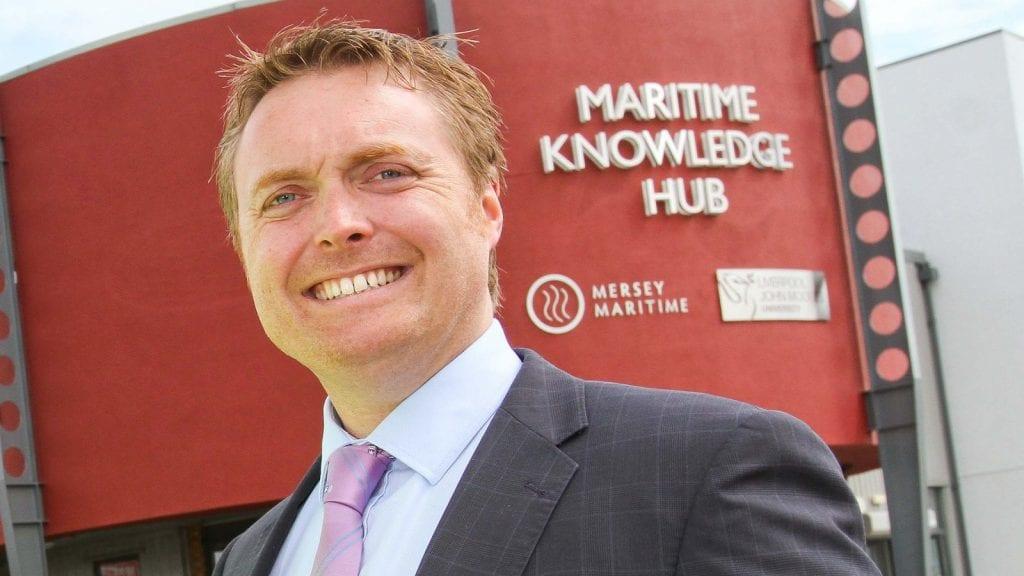 Chris Shirling-Rooke, Chief Exec, Mersey Maritime