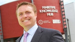 Chris Shirling-Rooke, Chief Exec, Mersey Maritime