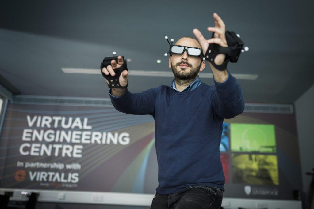 Liverpool's Virtual Engineering Centre