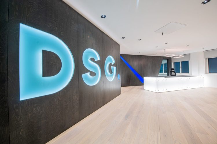Accountancy firm DSG's base at 43 Castle Street in Liverpool